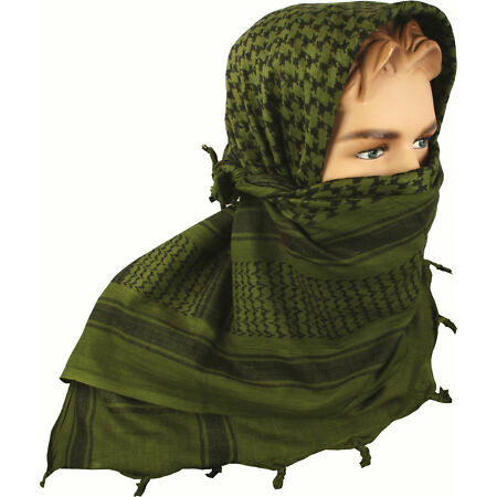img-SHEMAGH SCARF FACE VEIL FACE & HEAD PROTECTION - MILITARY, SECURITY, FORCES