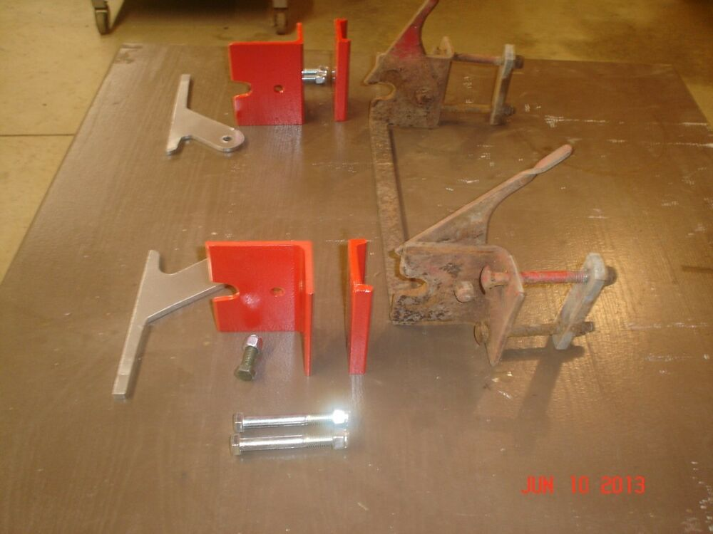 Need Picture Of Horse On Wheel Lift Assembly : Wheel horse wheelhorse snow plow blade rear hitch new ebay