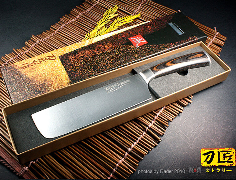 Japanese Design Vegetable Cleaver Nakiri Knife 6 8 Inch