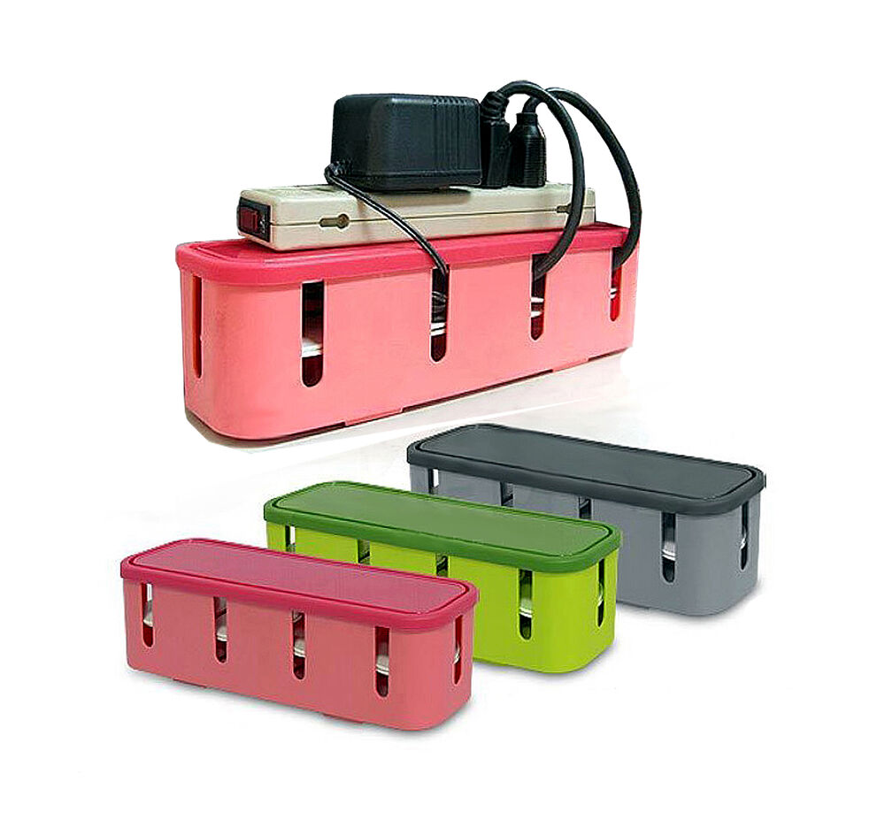multi power plug socket anti dust storage box cable wire. Black Bedroom Furniture Sets. Home Design Ideas