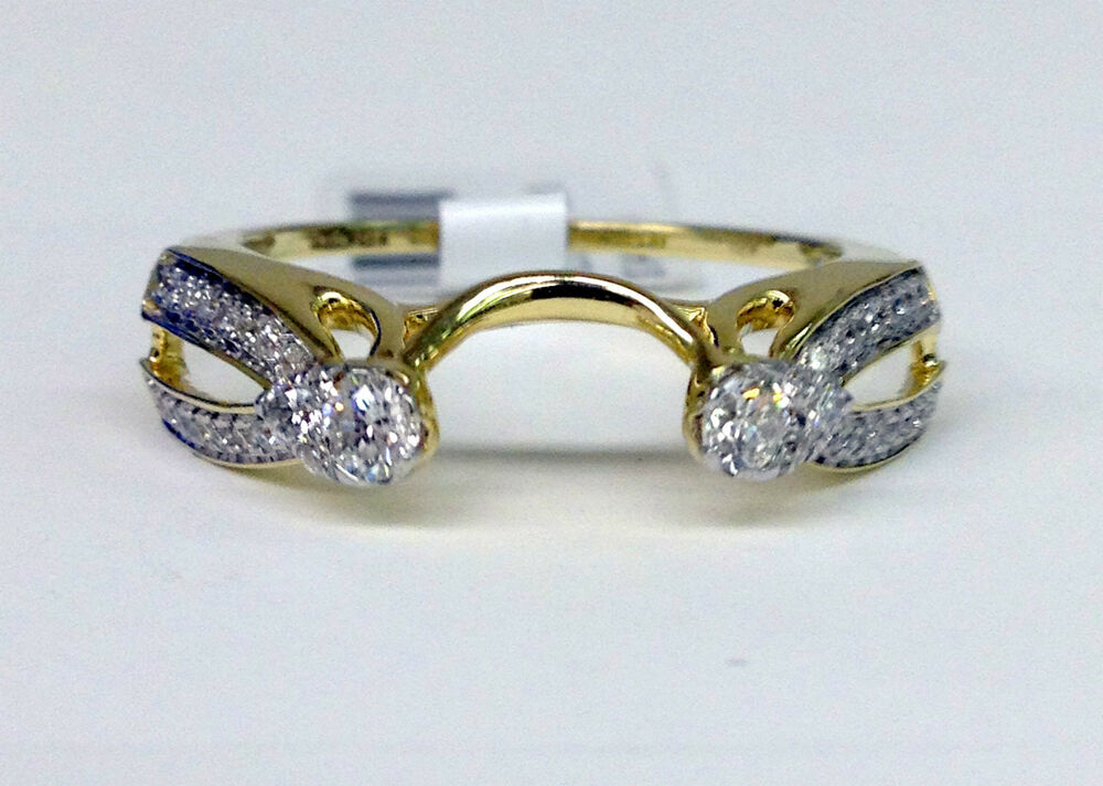 14kt Yellow Gold 1 3c Diamond Solitaire Wrap Ring