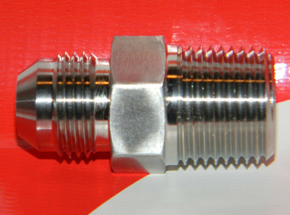 Mjic npt stainless steel ° flare straight