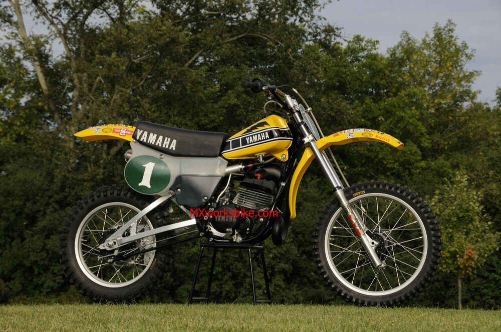 Motocross vintage yamaha question