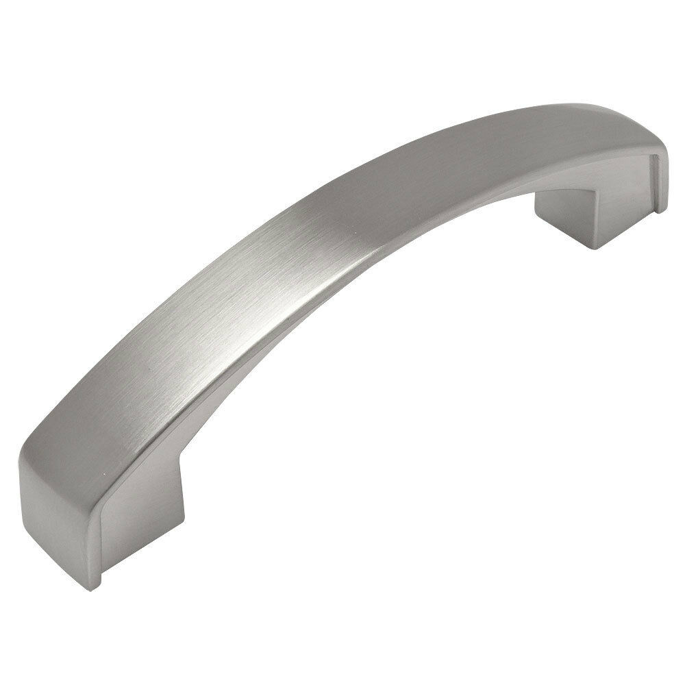 Cosmas satin nickel arch cabinet hardware pulls 616 96sn for Arched cabinet pulls