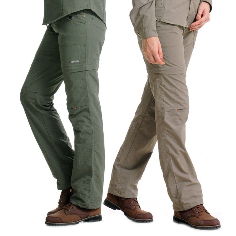 womens casual detachable trouser hiking travel mountain