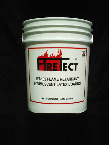 Flame fire retardant fireproofing paint for raw wood ebay