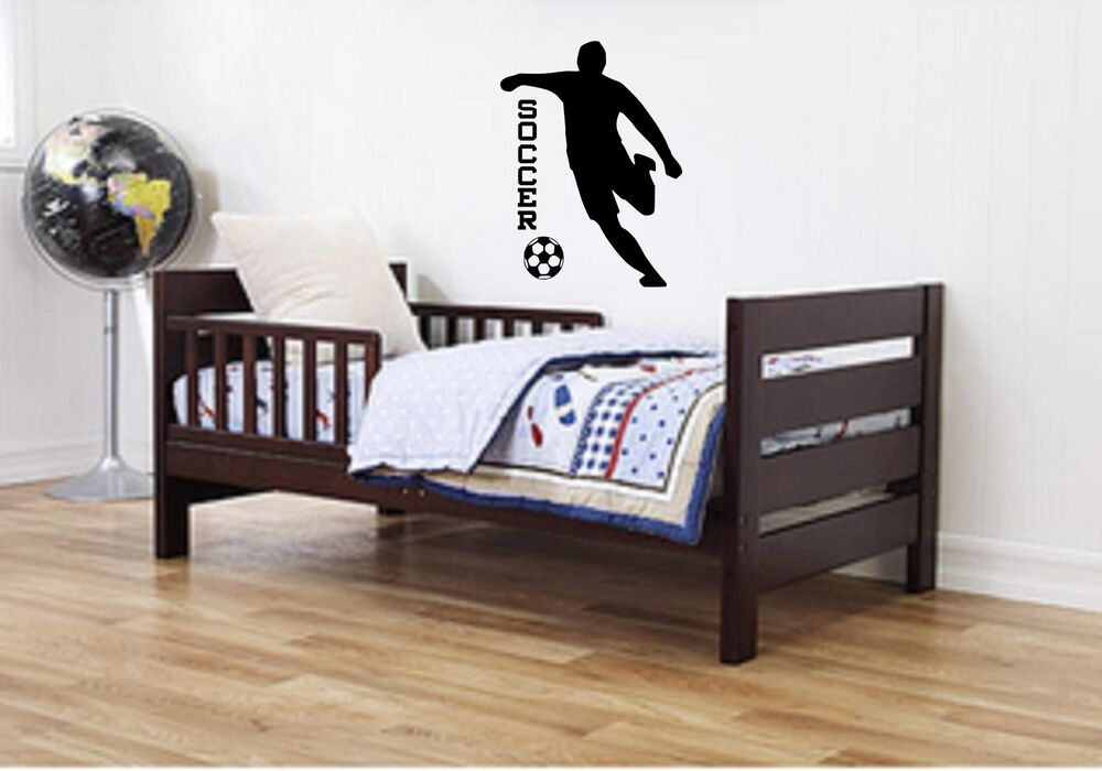 Bedroom for 2 kids girls - Decal Sticker Decor Sports Boys Girls Room Quote Art Players Ebay