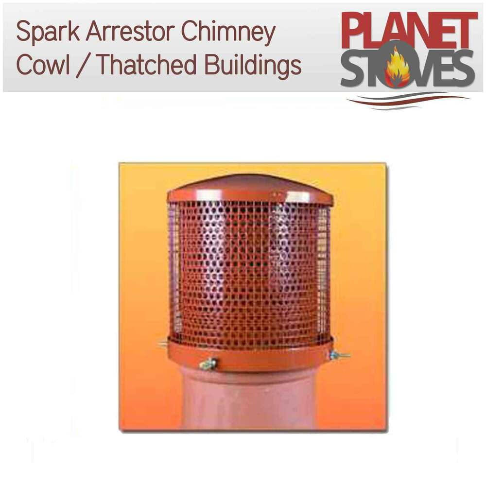 Spark Arrester Chimney Cowl For Thatched Roofs For Wood