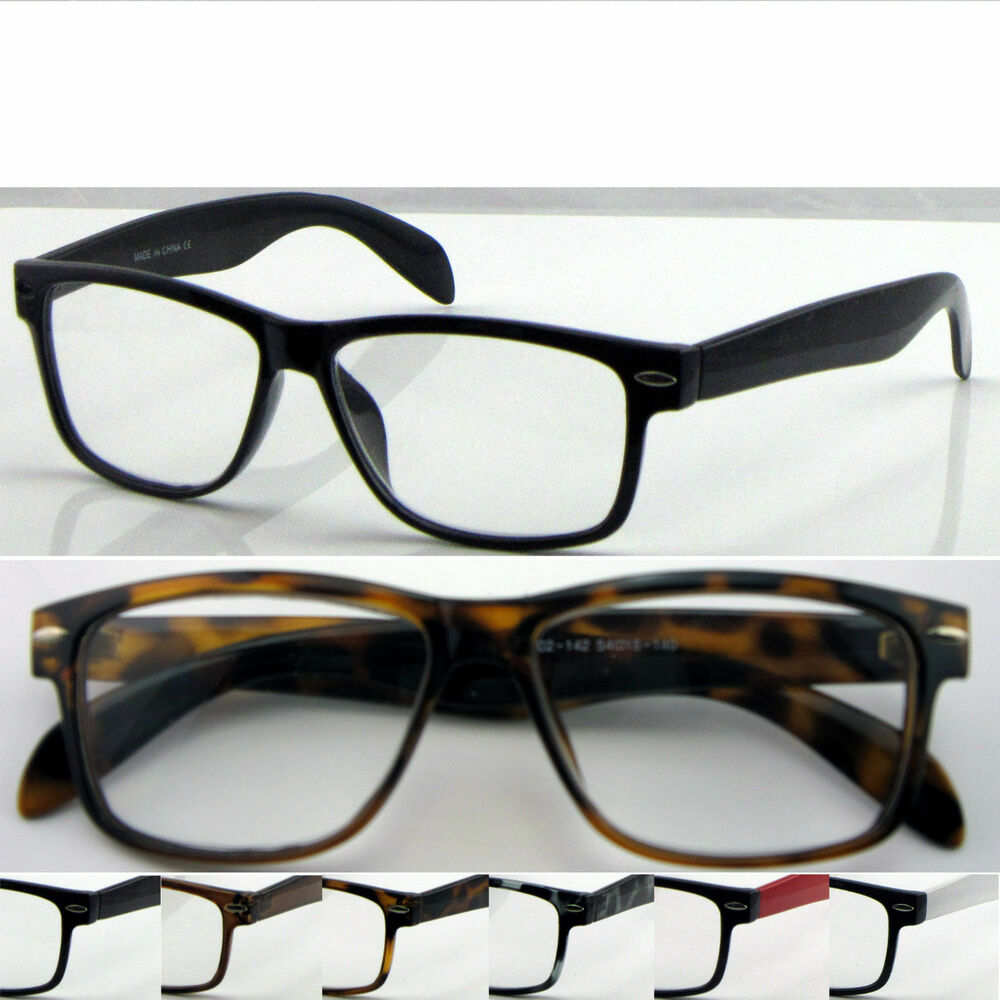Large Frame Wayfarer Glasses : L142 Wayfarer Reading Glasses+Case/Super Classic Style ...