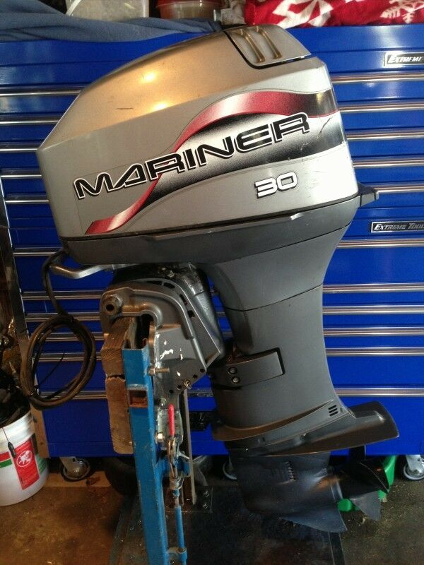 1997 mariner 30 hp 2 stroke outboard motor water ready for 30 hp outboard motors