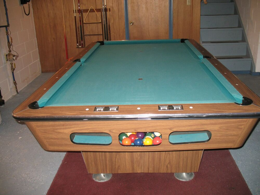 8 39 billiards pool table 1 piece slate man cave recreation