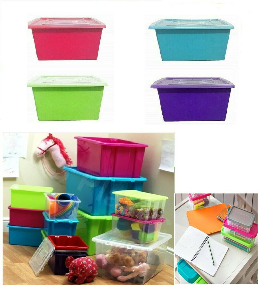 Storage Boxes Amp Containers Plastic Large 5 L 14 L 32 L 52