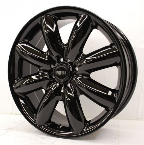 "Mini Cooper Wheels >> 17"" black Mini Cooper Wheels Rims Clubman Cooper S JCW SET"