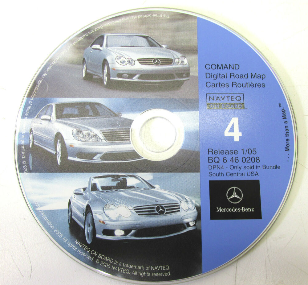 2003 2006 mercedes benz s55 amg w220 oem gps navigation cd. Black Bedroom Furniture Sets. Home Design Ideas
