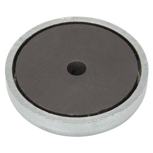 super strong round base 2 magnets 25 lbs pull 2 pieces ebay. Black Bedroom Furniture Sets. Home Design Ideas