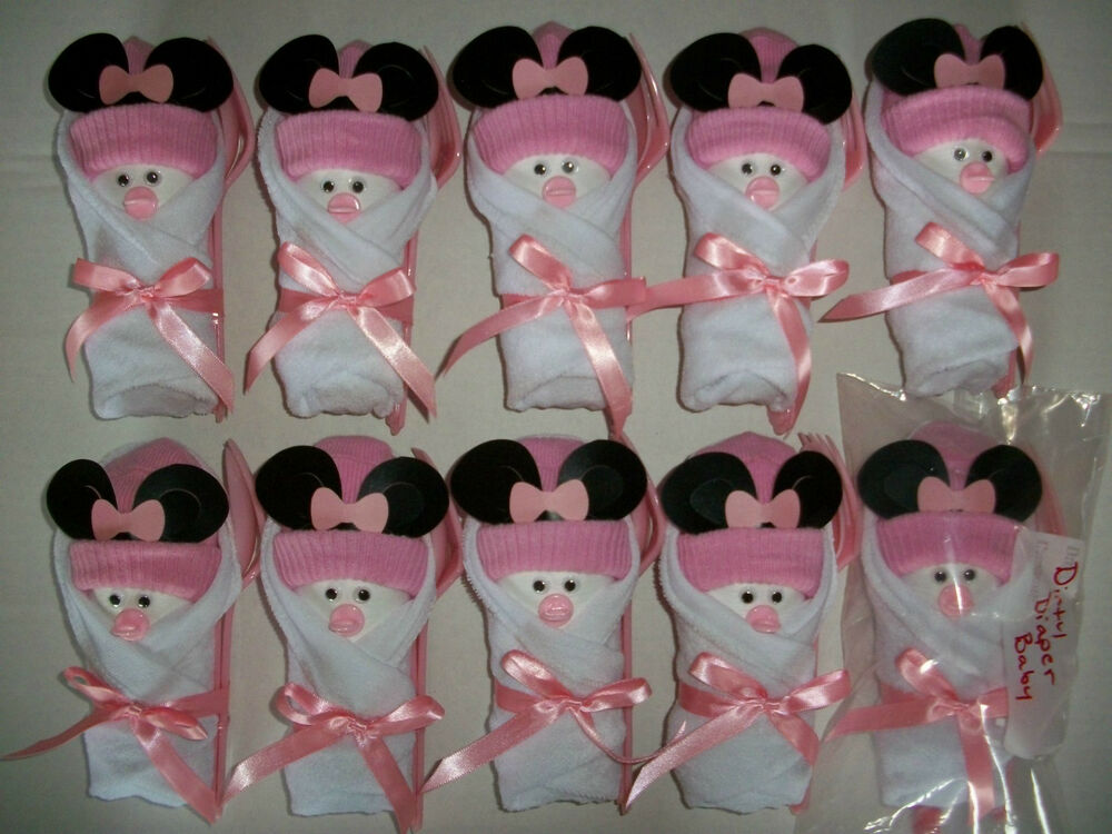 10 minnie mouse little swaddlers dirty diaper game baby for Baby minnie mouse decoration ideas
