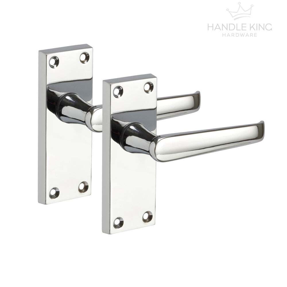 internal chrome door handles on backplate polished. Black Bedroom Furniture Sets. Home Design Ideas