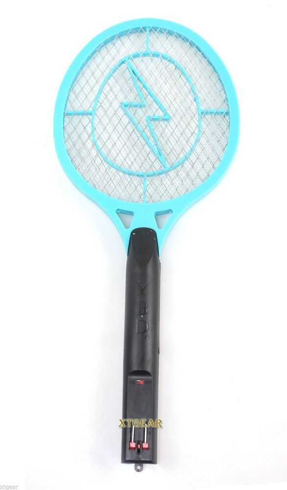 Rechargeable High Voltage Electric Mosquito Bug Fly Insect