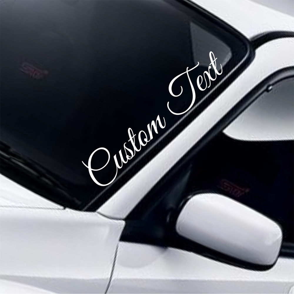 vinyl lettering for cars custom text lettering name novelty car 16520