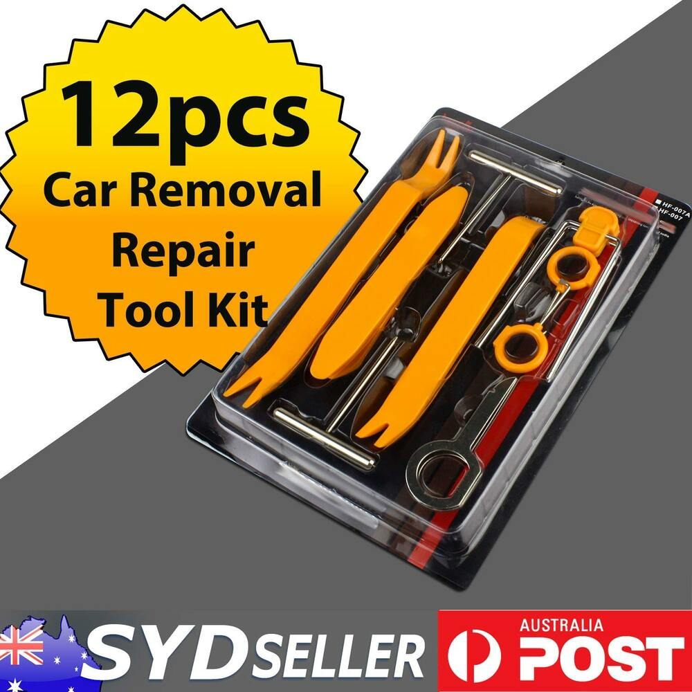 Car Door Dashboards Panel Trim Radio Stereo Removal