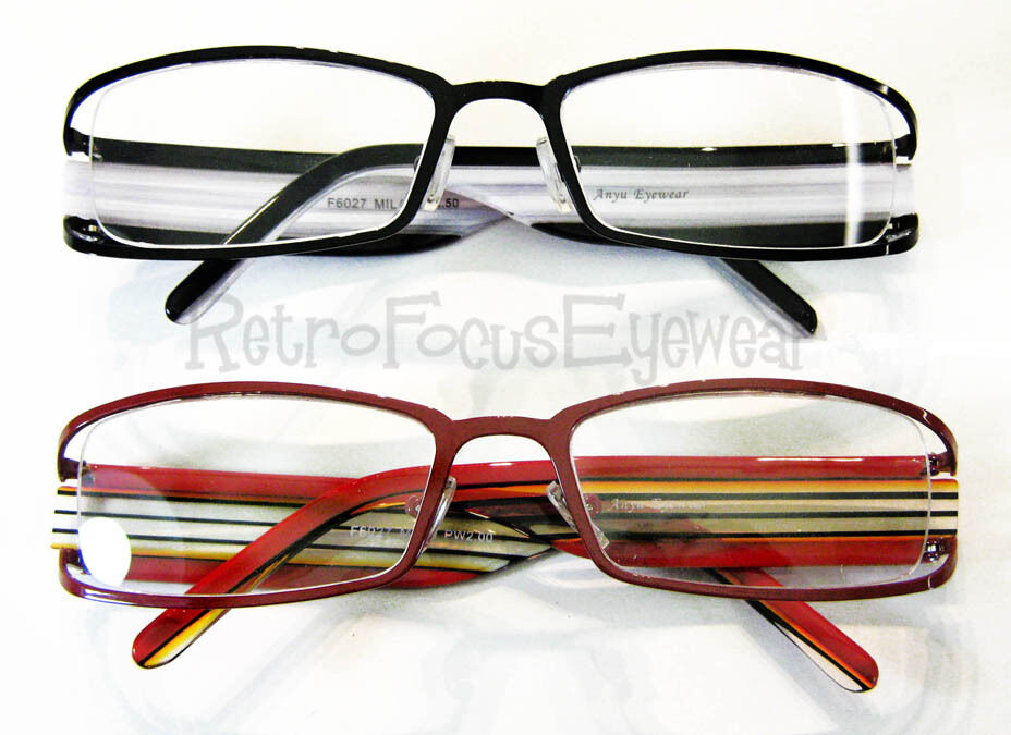 2/USD20 Wide Head Reading Glasses Red & Black Optical ...