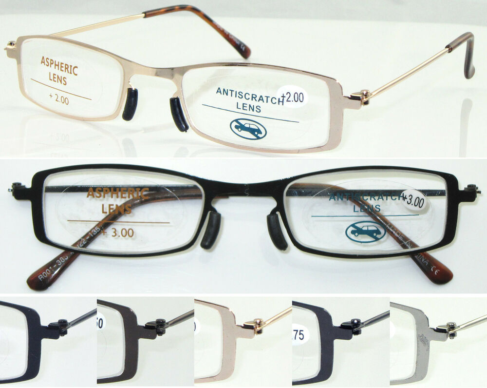 Reading Glasses No Frame : L385 Superb Quality Reading Glasses & NO WELDING Steel ...