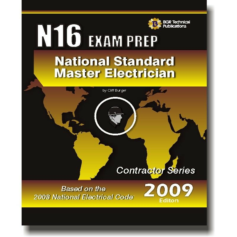 N16 National Standard Master Electrician Questions Workbook Icc Exam