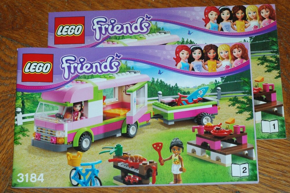 lego bauanleitung instruction manual friends 3184 adventure camper 673419165655 ebay. Black Bedroom Furniture Sets. Home Design Ideas