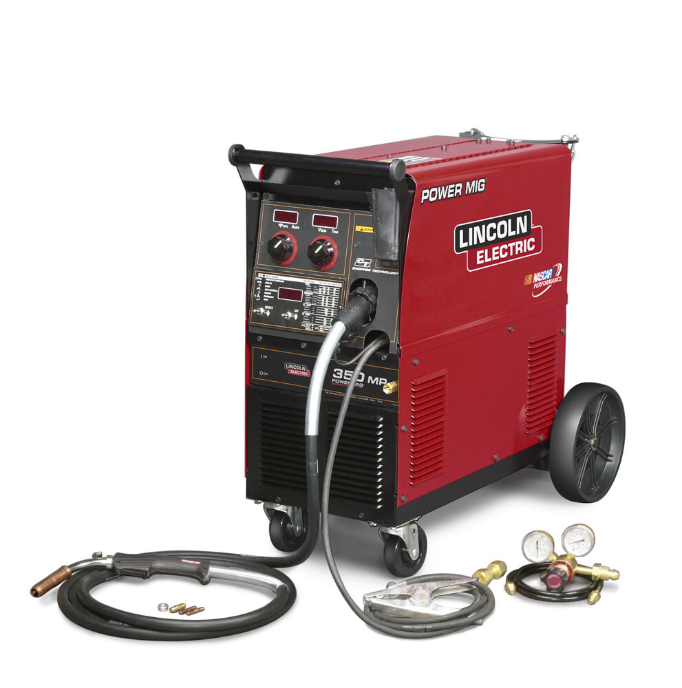 Lincoln Mig Welders: Lincoln Power MIG 350MP Push Model Welder K2403-2