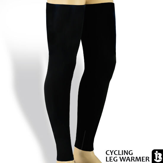 Cycling Leg Warmer Running Excercise Leg Warmer Leg Tights Black Size S M LXL | EBay