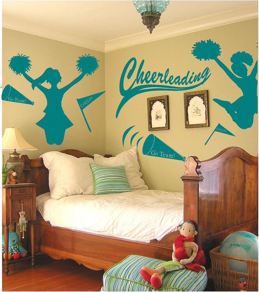 Fan girl on shoppinder for Sports decals for kids rooms