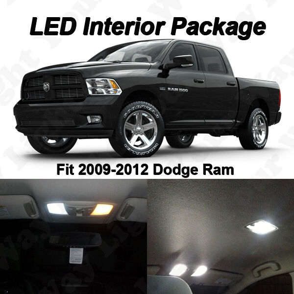 11 X Xenon White Smd Led Interior Lights Package Kit For 2002 2016 Dodge Ram Ebay