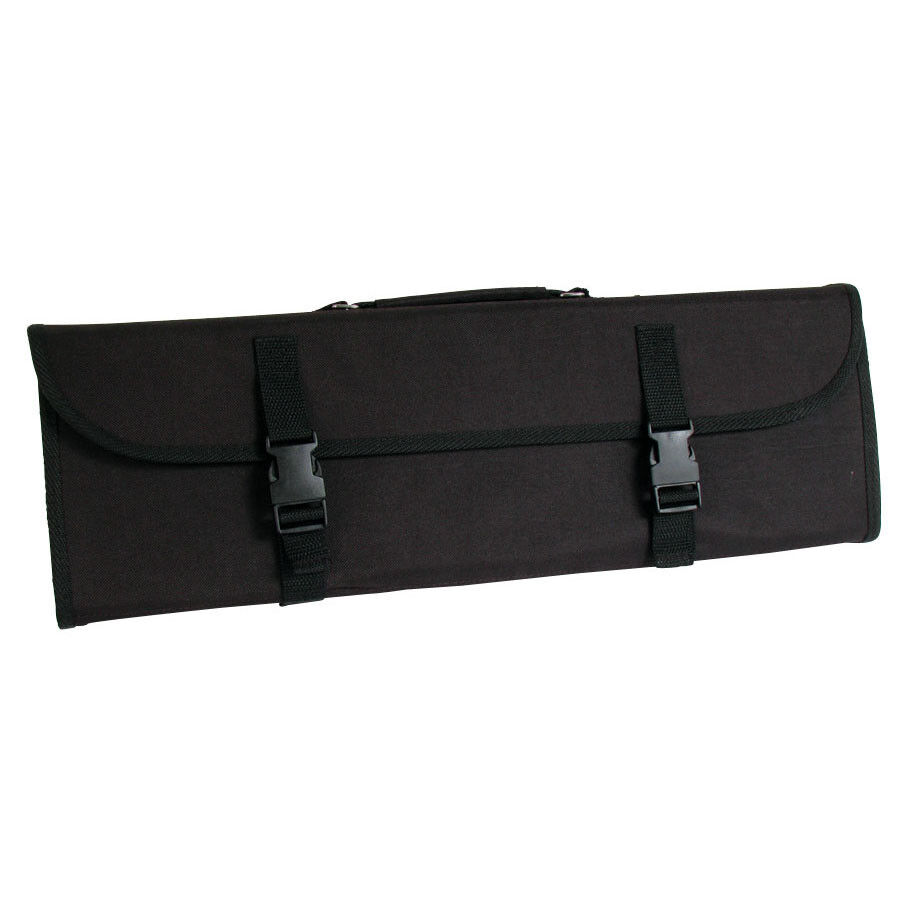 culinary knife bag 10 pouch knife roll 28 x20 chef knife case new ebay. Black Bedroom Furniture Sets. Home Design Ideas