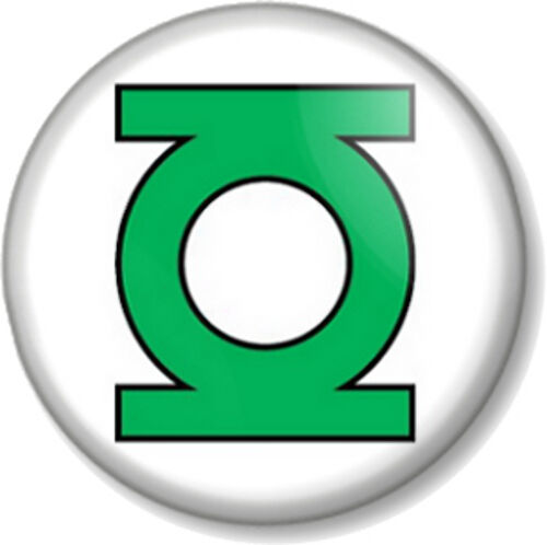 the green lantern logo 25mm pin button badge dc comic book. Black Bedroom Furniture Sets. Home Design Ideas