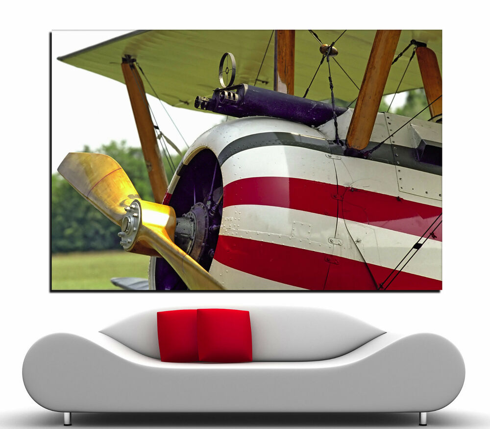 American propeller airplane canvas print picture prints for Airplane propellers for decoration