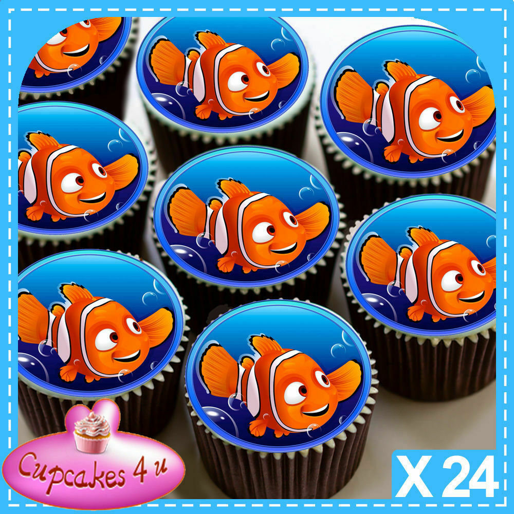 Finding Nemo Edible Cake Toppers