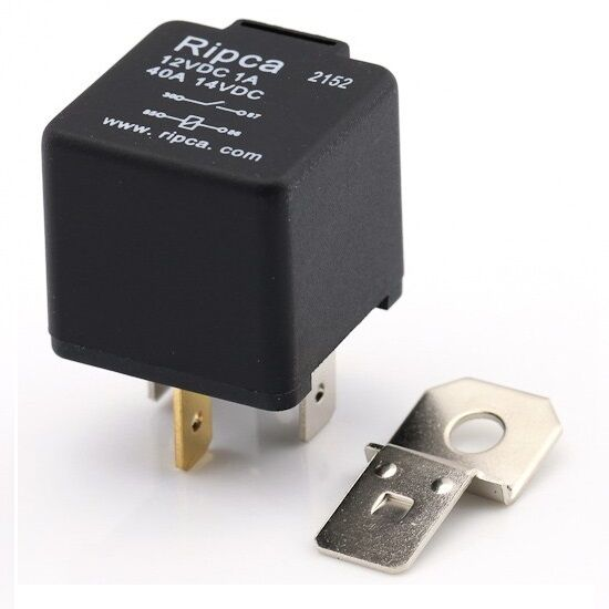 4 Pin Relay 12v 40a With Bracket  Off