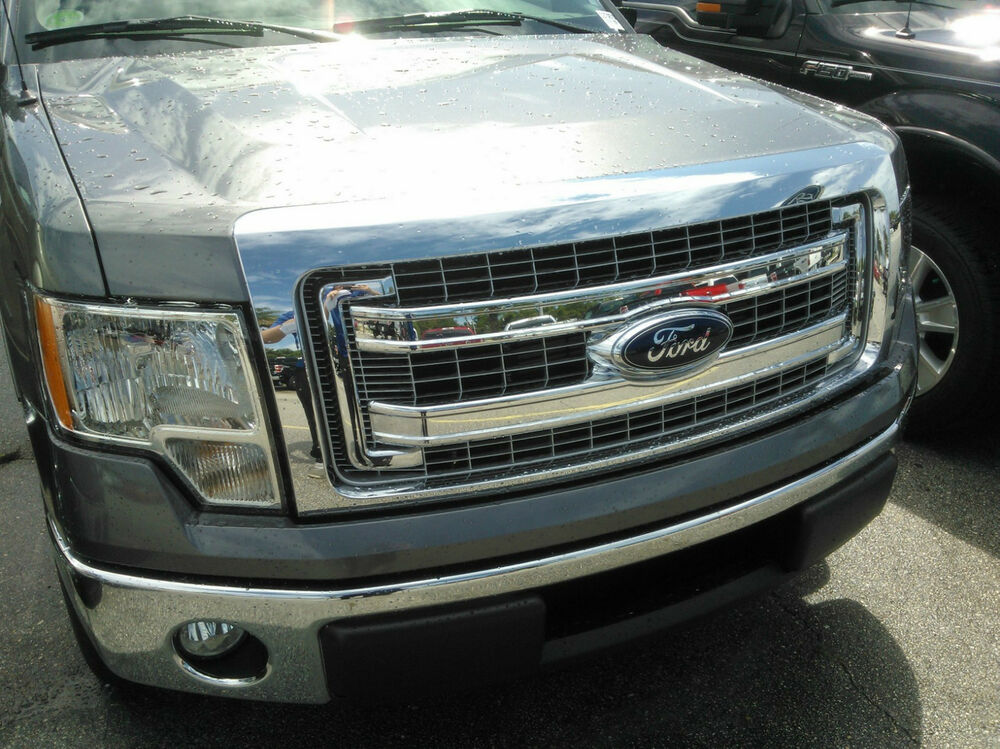 Look oem 2009 2013 ford f 150 chrome grille dl3z8200bb ebay for Ford f 150 exterior accessories