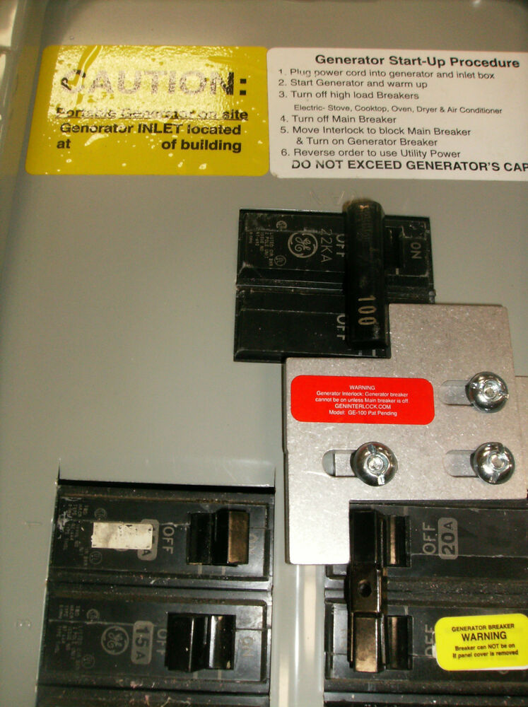 sylvania fuse box lock out for generator   40 wiring