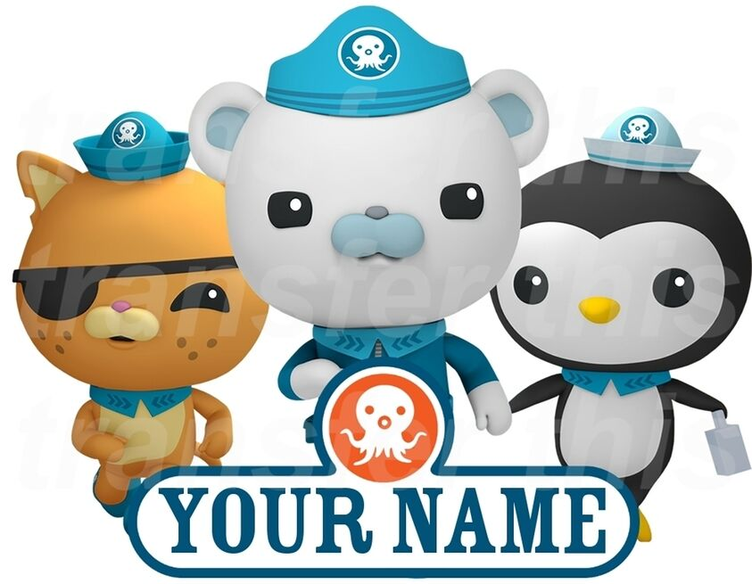 octonauts personalised sticker wall or iron on transfer octonauts stickers ebay