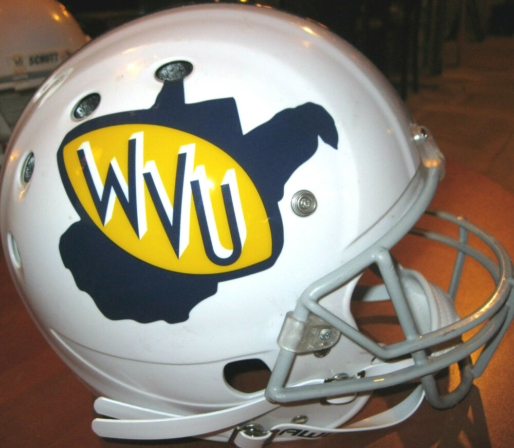 West Virginia Mountaineers 1971 Throwback Style Decals