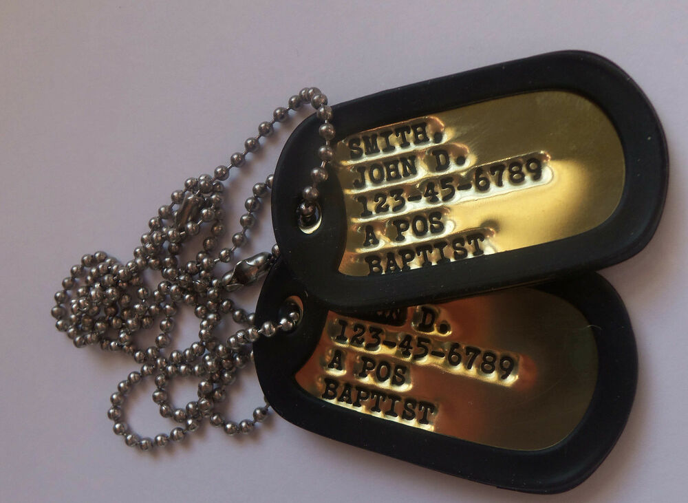 Where To Get Military Dog Tags Made