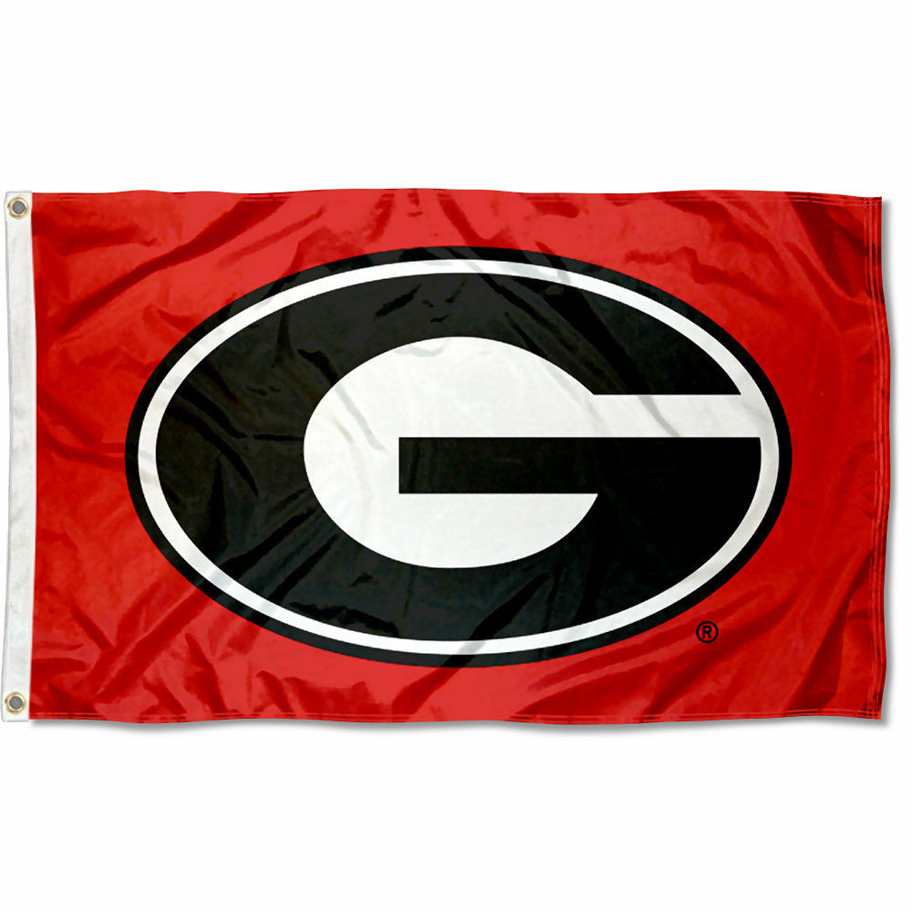 University Of Georgia Bulldogs Flag Uga Large 3x5 Ebay