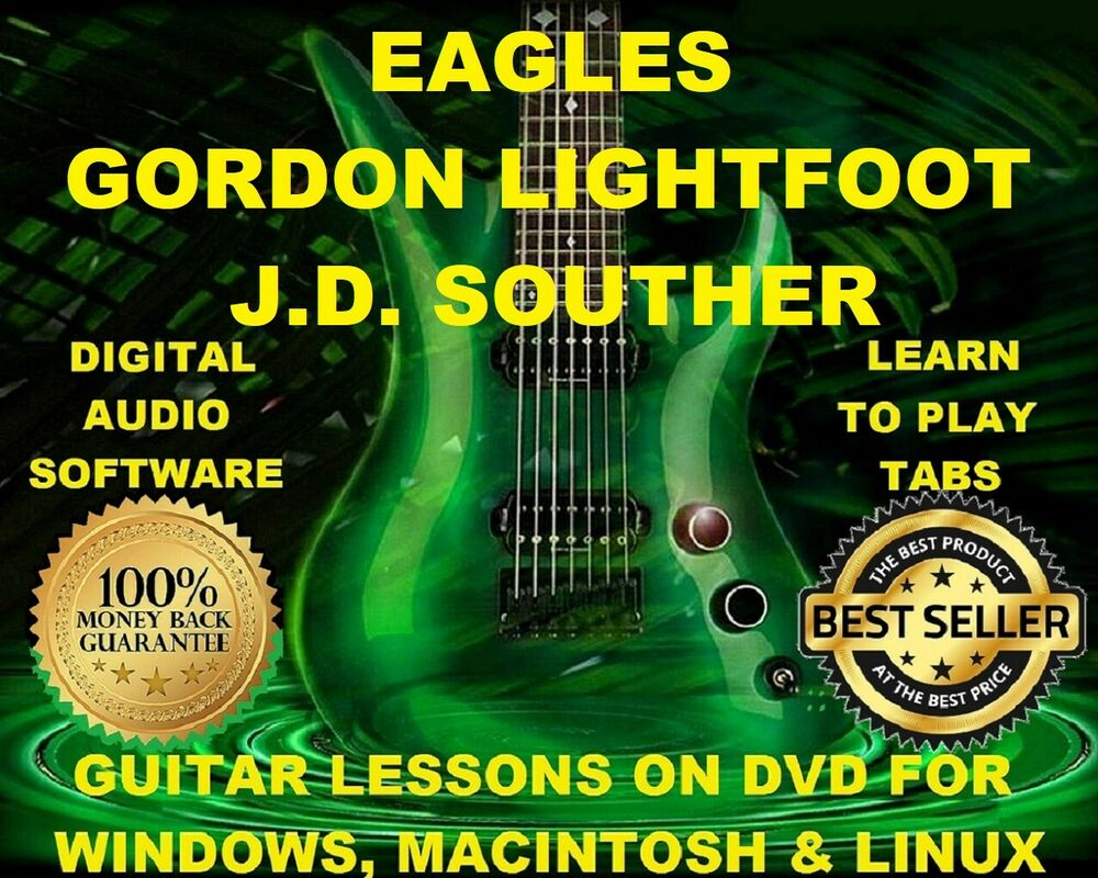 The Eagles 196 Guitar Tabs Software Lesson Cd 51 Backing Tracks