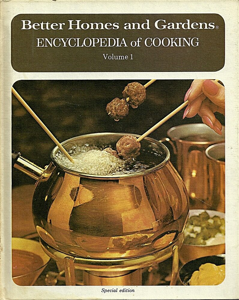 Better homes and gardens encyclopedia of cooking vol 1 for Better homes and gardens tv show contact