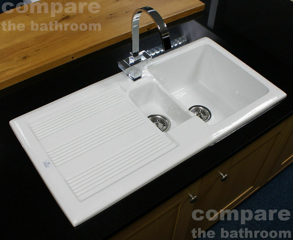 Buy White Enamel Kitchen Sink