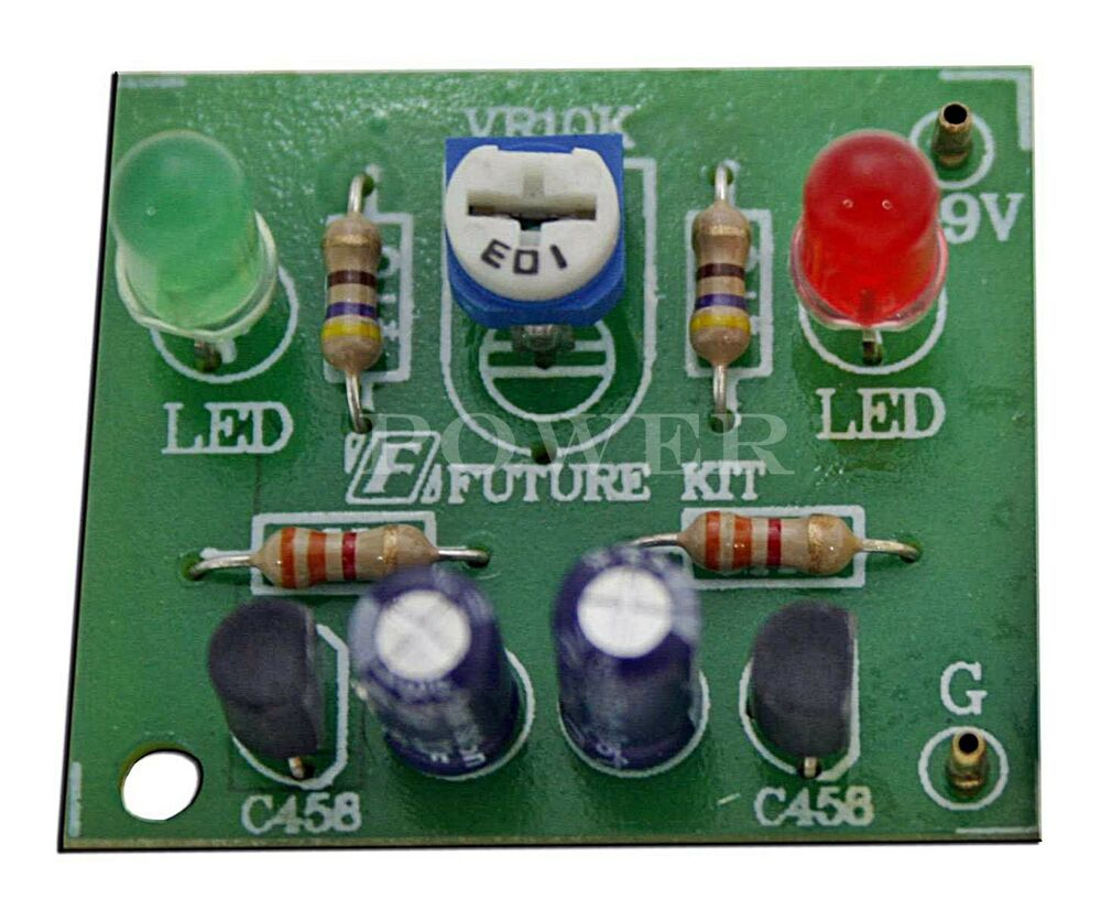 Led Circuit Board Kits Shaped Flash Light Lamp Electronic Production Suite Diy Download
