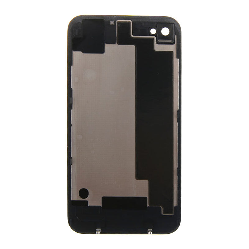 iphone 4 back glass replacement new battery cover back door rear glass repair for apple 17330