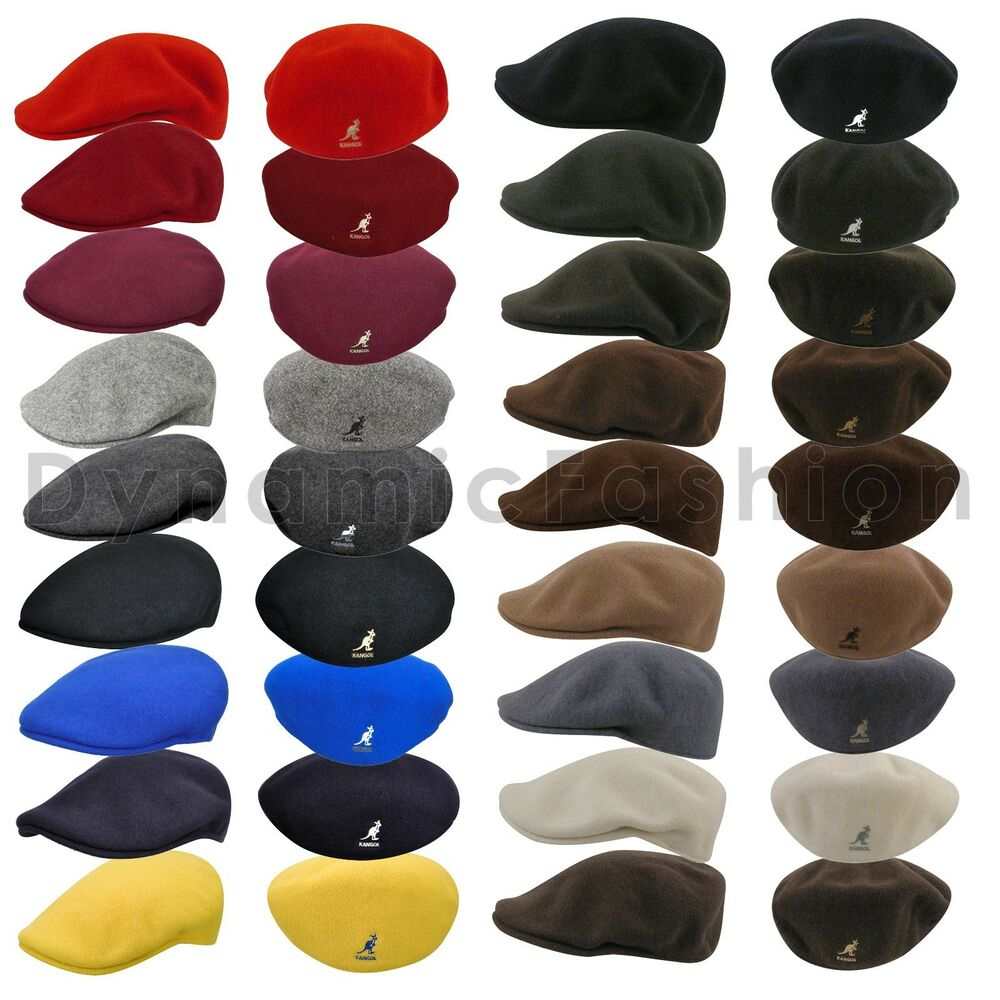 Details about Authentic Wool KANGOL 100% Wool 504 Ivy Cap Hat Style 0258BC  Sizes S M L XL XXL f73ce70f71aa