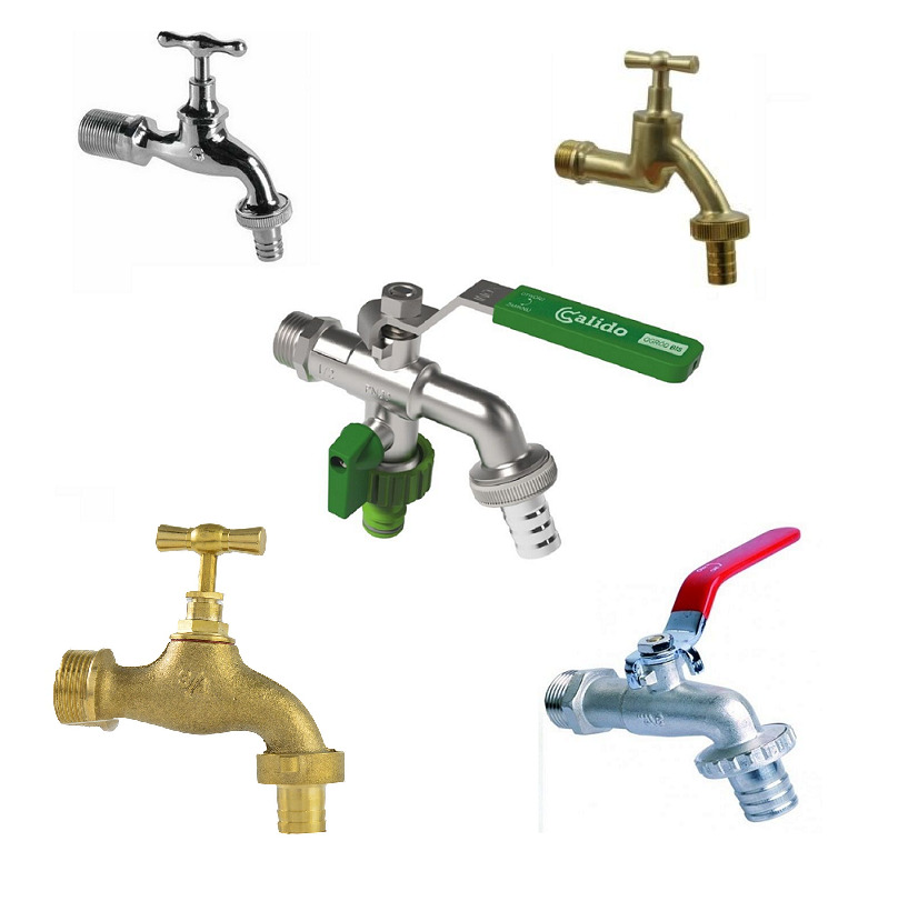 Industrial Lever Ball Valve End : Quot garden or industrial tap water lever type